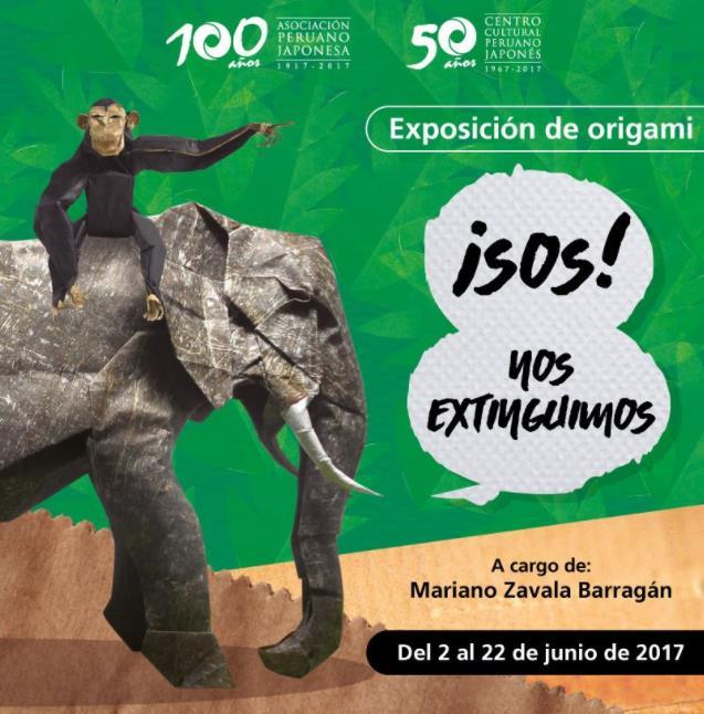 Exposición De Animales En Peligro De Extinción En Origami Netlimacom